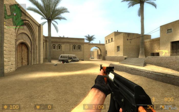 Counter Strike Source game