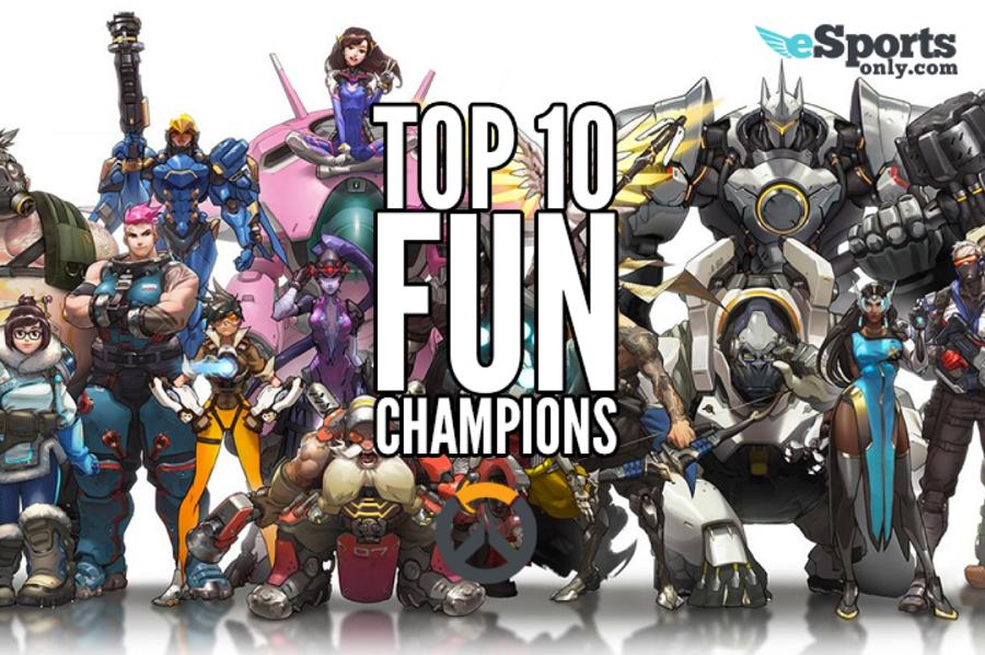 Overwatch top 10 heroes