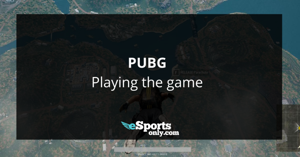 PUBG Playing the game_esportsonly.com