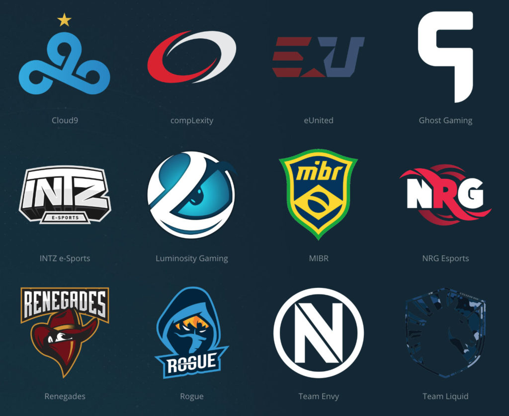 ESL-Pro-League-North-America-Competing-Teams